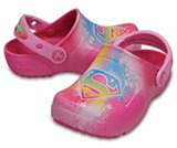 Kids' Crocs Fun Lab Supergirl™ Clogs