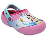 Kids' Crocs Fun Lab Fuzz Lined Princess™ Clog