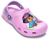 A product thumbnail of  Creative Crocs&trade; Dora&trade; Butterfly Clog