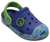Kids' Crocs Bump It Sea Life Clog