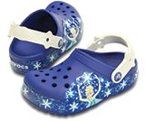 crocslights Frozen clog kids