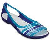 Women's Crocs Isabella Huarache Flat