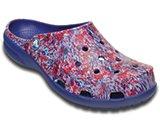 crocs freesail watercolor clog w