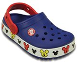 crocslights Mickey clog kids