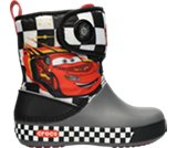 A product thumbnail of  Kids&rsquo; Crocband&trade; II.5  Cars&reg; Gust Boot Lightning McQueen&trade;