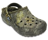Kids' Classic Realtree Xtra® Fuzz Lined Clog