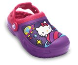 Een miniatuurweergave van  Creative Crocs Kids' Hello Kitty® Space Adventure Lined Clog