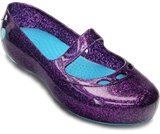 Una rese&ntilde;a de producto de  Girls&rsquo; Carlisa Glitter Flat Children's