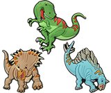 Dinosaurs 3-Pack