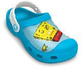 A product thumbnail of  Spongebob™ & Patrick™ Star Splash in the Sea Custom Clog