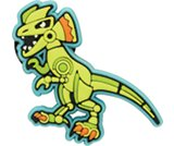FH16 Robosaur Tops-Loose