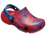 Kids' Crocs Fun Lab Spider-Man™ Graphic Clogs