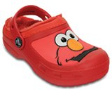 creative clog Elmo lined clog kids