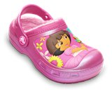 Et miniatyrbilde av produktet  Creative Crocs Dora&trade; Lollipops &amp; Flowers Lined Clog