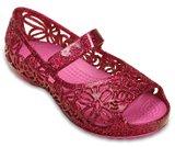 Chaussures à talons plats scintillantes Crocs Isabella (pour enfants)