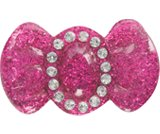 A product thumbnail of  Glitter Bow - Fuchsia