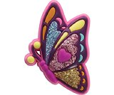 Glitzy Heart Butterfly