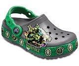 Kids' Crocband™ Fun Lab Teenage Mutant Ninja Turtles™ Lights Clogs
