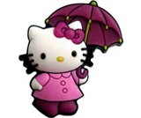 A product thumbnail of  Hello Kitty Rain Boot - Pink