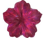 A product thumbnail of  Iridescent Flower - Dark Pink