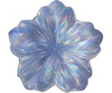 A product thumbnail of  Iridescent Flower- Blue