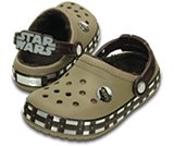 Kids' Crocband™ Star Wars™ Chewbacca™ Fuzz Lined Clog
