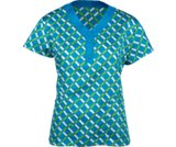 A product thumbnail of  Crocs™ Scrubs Emily Print Top