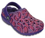 Kids' Classic Fuzz Lined Graphic Clog