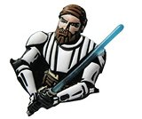 A product thumbnail of  Light-Up Obi Wan Kanobi