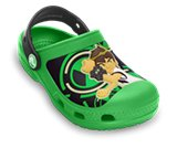 A product thumbnail of  Creative Crocs Ben 10 Glow-in-the-Dark Clog