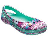 Kids' Genna II Graphic Sparkle Band Slingbacks