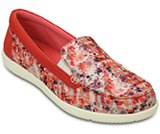 Women's Walu II Striped Floral Loafer