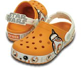 crocband  star wars BB-8 clog kids