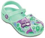 crocs karin butterfly clog kids