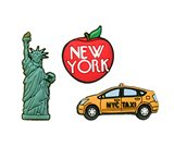 A product thumbnail of  New York 3pk Card