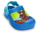 A product thumbnail of  Kids&rsquo; Scooby-Doo&trade; Lined Custom Clog