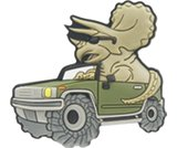 A product thumbnail of  Off-Road Triceratops