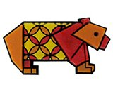 A product thumbnail of  Origami Red Bear