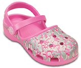 Girls' Crocs Karin Sparkle Leopard Clog