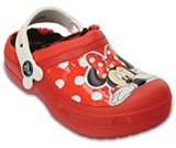 creative clog Minnie lined clog kids