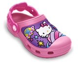 A product thumbnail of  Creative Crocs Hello Kitty® Space Adventure Clog