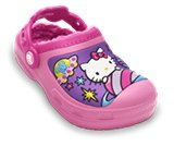 En miniatyrbild av Creative Crocs Kids&rsquo; Hello Kitty&reg; Space Adventure Lined Clog