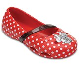 Chaussures à talons plats Minnie™ de Crocs pour enfants