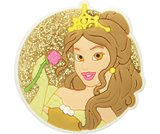 Princess Belle™ Circle Charm