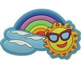 Rainbow Sun Charm