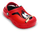 Een miniatuurweergave van  Creative Crocs Mickey Mouse&trade; &amp; Goofy&trade; Lined Clog