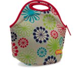 Una rese&ntilde;a de producto de  Retro Floral Lunch Bag