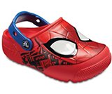 Kids' Crocs Fun Lab Spider-Man™ Lights Clogs