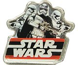 Star Wars Dark Side Badge-​ Card