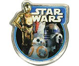 Star Wars Light Side Badge-​ Card